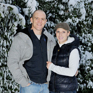 Zara Phillpis, Mike Tindall in Zara Phillips and her fiance Mike Tindall at Their Gloucestershire Home