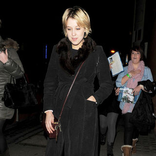 Peaches Geldof in Peaches Geldof Leaves The New Wimbledon Theatre