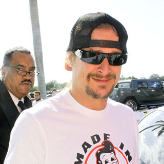 Kid Rock in The Orange Carpet Prior to The Detroit Lions vs The Miami Dolphins NFL Game