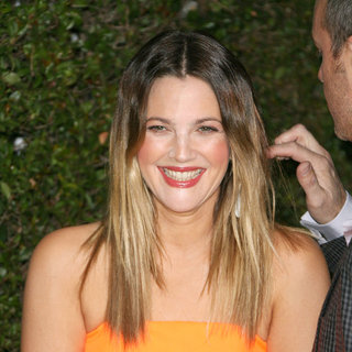 Drew Barrymore in Drew Barrymore Attends The 50th Anniversary of 'Covergirl'