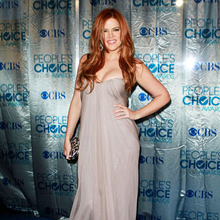 Khloe Kardashian in 2011 People's Choice Awards - Arrivals