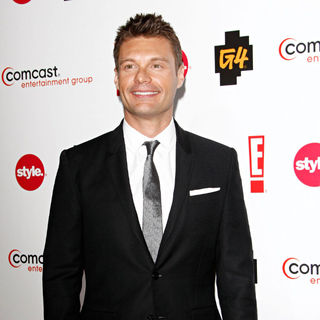 Ryan Seacrest in Comcast Entertainment Group TCA Cocktail Reception