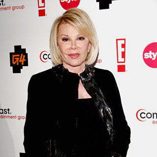 Joan Rivers in Comcast Entertainment Group TCA Cocktail Reception