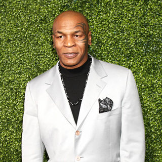 Mike Tyson in The Oprah Winfrey Network Winter 2011 TCA Party - Arrivals