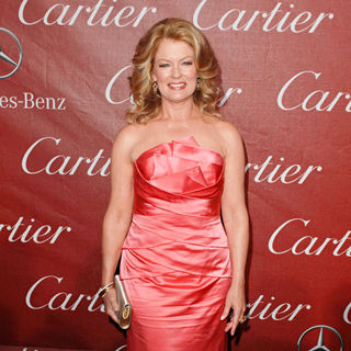 Mary Hart in 2011 Palm Springs International Film Festival Awards Gala Presented by Cartier