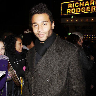 Corbin Bleu in Closing Night of The Broadway Musical 'In the Heights' - Departures
