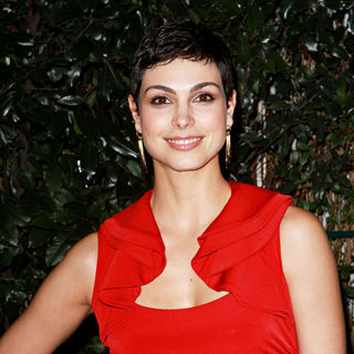 Morena Baccarin in Audi and Designer J. Mendel's Kick Off Celebration of Golden Globe Week 2011
