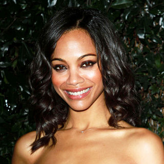 Zoe Saldana in Audi and Designer J. Mendel's Kick Off Celebration of Golden Globe Week 2011