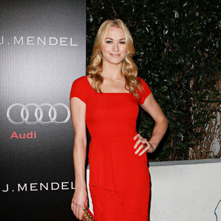 Yvonne Strahovski in Audi and Designer J. Mendel's Kick Off Celebration of Golden Globe Week 2011