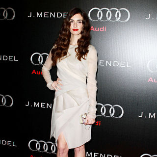 Paz Vega in Audi and Designer J. Mendel's Kick Off Celebration of Golden Globe Week 2011