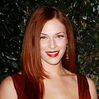 Amanda Righetti in Audi and Designer J. Mendel's Kick Off Celebration of Golden Globe Week 2011