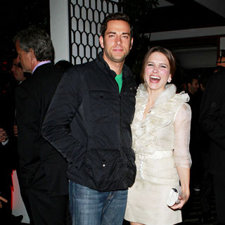 Zachary Levi, Sophia Bush in Audi and Designer J. Mendel's Kick Off Celebration of Golden Globe Week 2011
