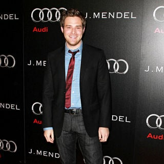 Ben Rappaport in Audi and Designer J. Mendel's Kick Off Celebration of Golden Globe Week 2011