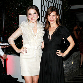 Sophia Bush, Perrey Reeves in Audi and Designer J. Mendel's Kick Off Celebration of Golden Globe Week 2011