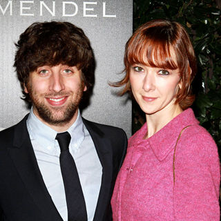 Simon Helberg, Jocelyn Towne in Audi and Designer J. Mendel's Kick Off Celebration of Golden Globe Week 2011