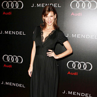 Perrey Reeves in Audi and Designer J. Mendel's Kick Off Celebration of Golden Globe Week 2011