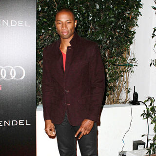 Robbie Jones in Audi and Designer J. Mendel's Kick Off Celebration of Golden Globe Week 2011