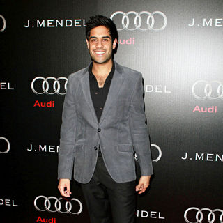 Sacha Dhawan in Audi and Designer J. Mendel's Kick Off Celebration of Golden Globe Week 2011 - wenn3160439