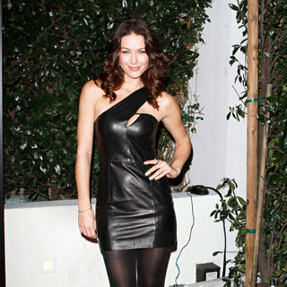 Louise Griffiths in Audi and Designer J. Mendel's Kick Off Celebration of Golden Globe Week 2011