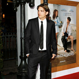 "Ashton Kutcher in Los Angeles Premiere of ""No Strings Attached"""