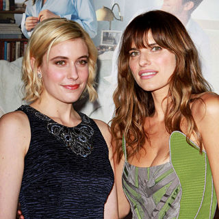"Greta Gerwig, Lake Bell in Los Angeles Premiere of ""No Strings Attached"""