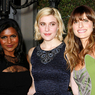"Mindy Kaling, Greta Gerwig, Lake Bell in Los Angeles Premiere of ""No Strings Attached"""