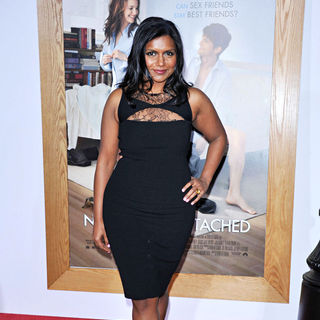 "Mindy Kaling in Los Angeles Premiere of ""No Strings Attached"""
