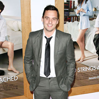 "Jake Johnson in Los Angeles Premiere of ""No Strings Attached"""