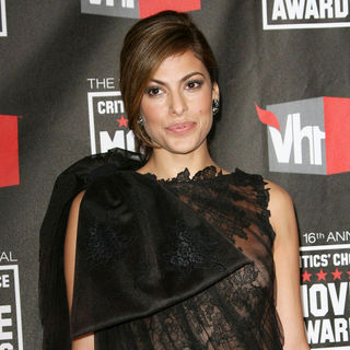 Eva Mendes in 16th Annual Critics' Choice Awards - Arrivals