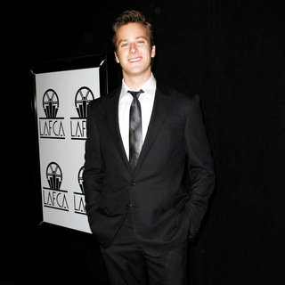 Armie Hammer in The 36th Annual Los Angeles Film Critics Association Awards - Arrivals
