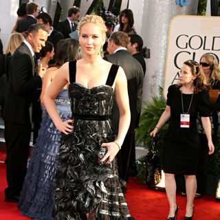 Jennifer Lawrence in 68th Annual Golden Globe Awards - Arrivals