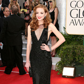 Jayma Mays in 68th Annual Golden Globe Awards - Arrivals