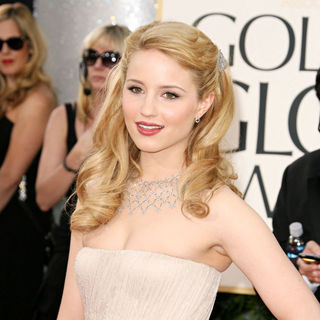 Dianna Agron in 68th Annual Golden Globe Awards - Arrivals