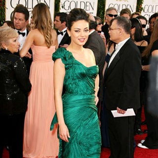 Mila Kunis in 68th Annual Golden Globe Awards - Arrivals
