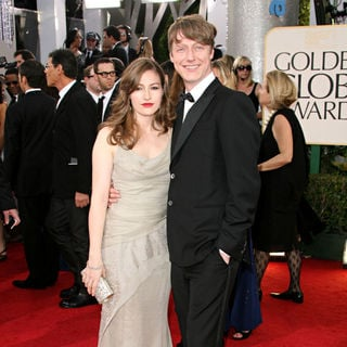 Kelly MacDonald, Dougie Payne in 68th Annual Golden Globe Awards - Arrivals