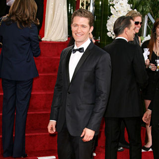 Matthew Morrison in 68th Annual Golden Globe Awards - Arrivals