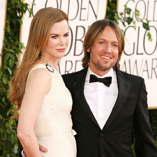 Nicole Kidman, Keith Urban in 68th Annual Golden Globe Awards - Arrivals