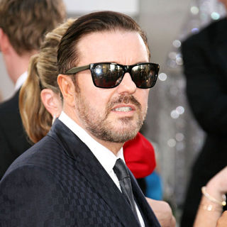 Ricky Gervais in 68th Annual Golden Globe Awards - Arrivals