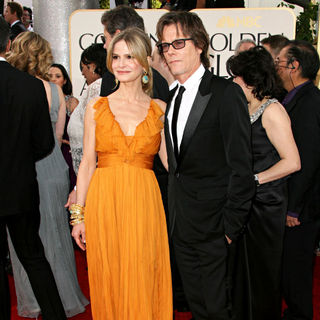 Kyra Sedgwick, Kevin Bacon in 68th Annual Golden Globe Awards - Arrivals