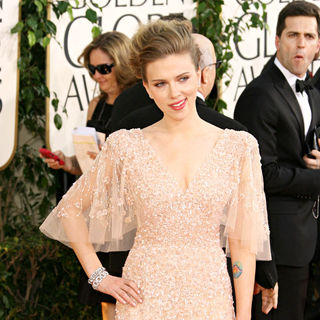 Scarlett Johansson in 68th Annual Golden Globe Awards - Arrivals