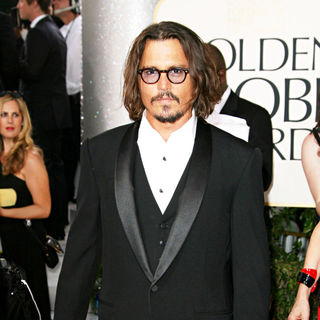 Johnny Depp in 68th Annual Golden Globe Awards - Arrivals