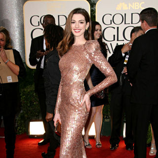 Anne Hathaway in 68th Annual Golden Globe Awards - Arrivals