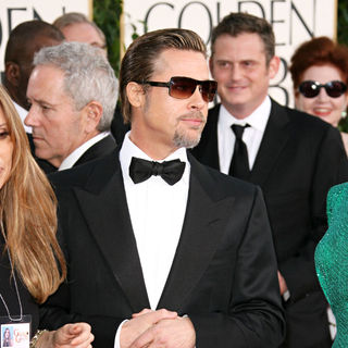 Brad Pitt in 68th Annual Golden Globe Awards - Arrivals
