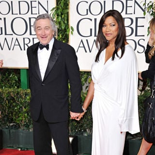 Robert De Niro, Grace Hightower in 68th Annual Golden Globe Awards - Arrivals