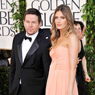 Mark Wahlberg, Rhea Durham in 68th Annual Golden Globe Awards - Arrivals