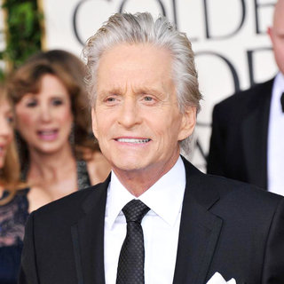 Michael Douglas in 68th Annual Golden Globe Awards - Arrivals
