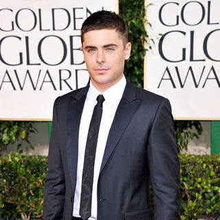 Zac Efron in 68th Annual Golden Globe Awards - Arrivals