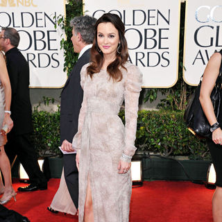 Leighton Meester in 68th Annual Golden Globe Awards - Arrivals