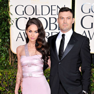 Megan Fox, Brian Austin Green in 68th Annual Golden Globe Awards - Arrivals