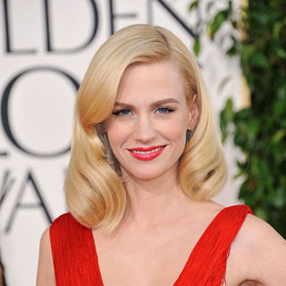 January Jones in 68th Annual Golden Globe Awards - Arrivals